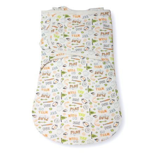 Summer Infant SwaddleMe WrapSack Blanket, Sketchy Sport, Large (Discontinued by Manufacturer)