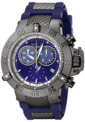 Invicta Men's 5509 Subaqua Sport Blue Ion-Plated Chronograph Watch