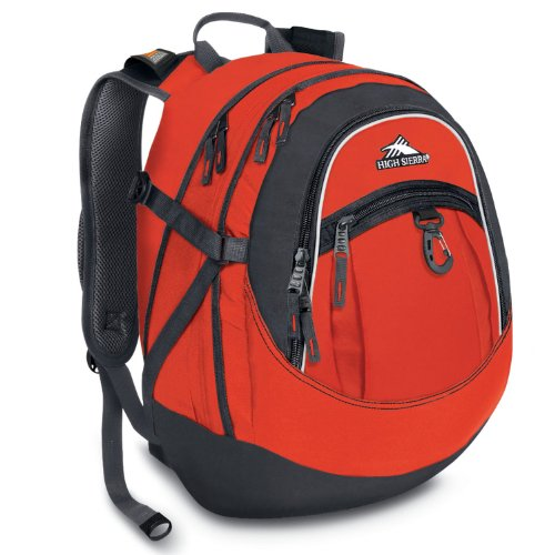 High Sierra Backpack Redline 19 5x13x7 Inch