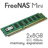FreeNAS Mini - Memory Upgrade - 2 x 8GB DDR3 1600Mhz ECC Unbuffered