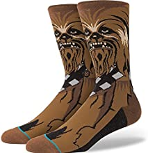 Stance Chewie Star Wars Socks Brown