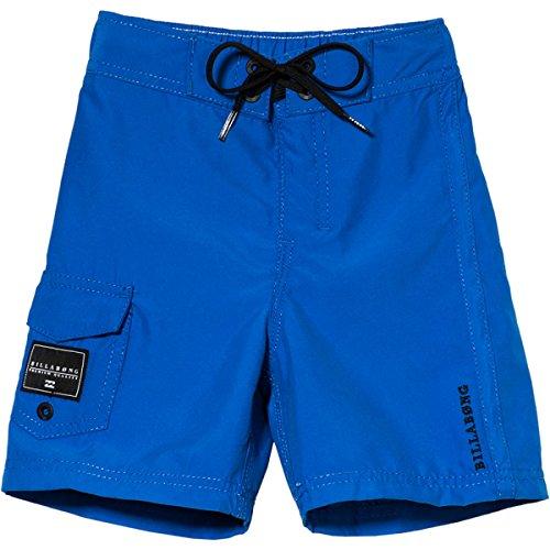 Billabong Kids Boys Rum Point Boardshort Shorts, Blue Indigo, 3T front-966933