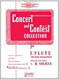 RUBANK CONCERT AND CONTEST   COLLECTION FLUTE BK/CD (Rubank Educational Library)