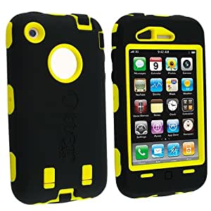 Otterbox Apple iPhone 3G / 3GS Defender Case [OEM], Black / Yellow