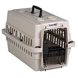 Medium Plastic Pet Carrier - Beige