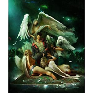 24x29 DmC Devil May Cry Game Art Print Poster 025/Middle Size