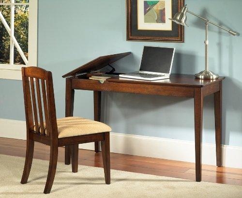 Buy Low Price Comfortable Computer Desk by Samuel Lawrence – Dark Birch (8124-414) (B004C1Y9IW)