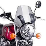 Fly screen Puig Naked light smoke for Moto Guzzi V7/ Cafe Classic/ Classic/ Racer/ Special, V11 Sport