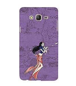EPICCASE elegant beauty Mobile Back Case Cover For Samsung Galaxy E5 (Designer Case)