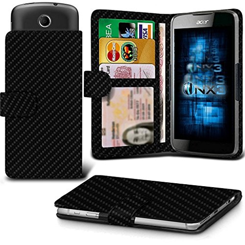 onx3-carbon-fibre-wileyfox-swift-2-plus-case-universal-adjustable-spring-wallet-id-card-holder-with-