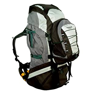 Eureka! Women's Archimedes LT Backpack (62+8 Litre) - Phantom/Sea Grass/Dark Grey/Black