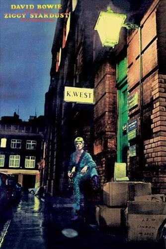 David Bowie - Ziggy Stardust Poster Stampa (91 x 61cm)