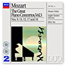 Mozart: The Great Piano Concertos, Vol.3