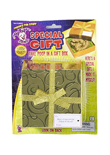 New Special Gift Fake Poop In A Box Novelty Gag Joke Gift