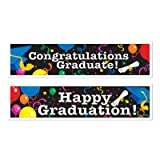 Graduation Banners (asstd designs) Party Accessory  (1 count) (2/Pkg)