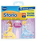 Vtech Storio 281105 - Libro electrónico animado (en francés), diseño de princesas DIsney