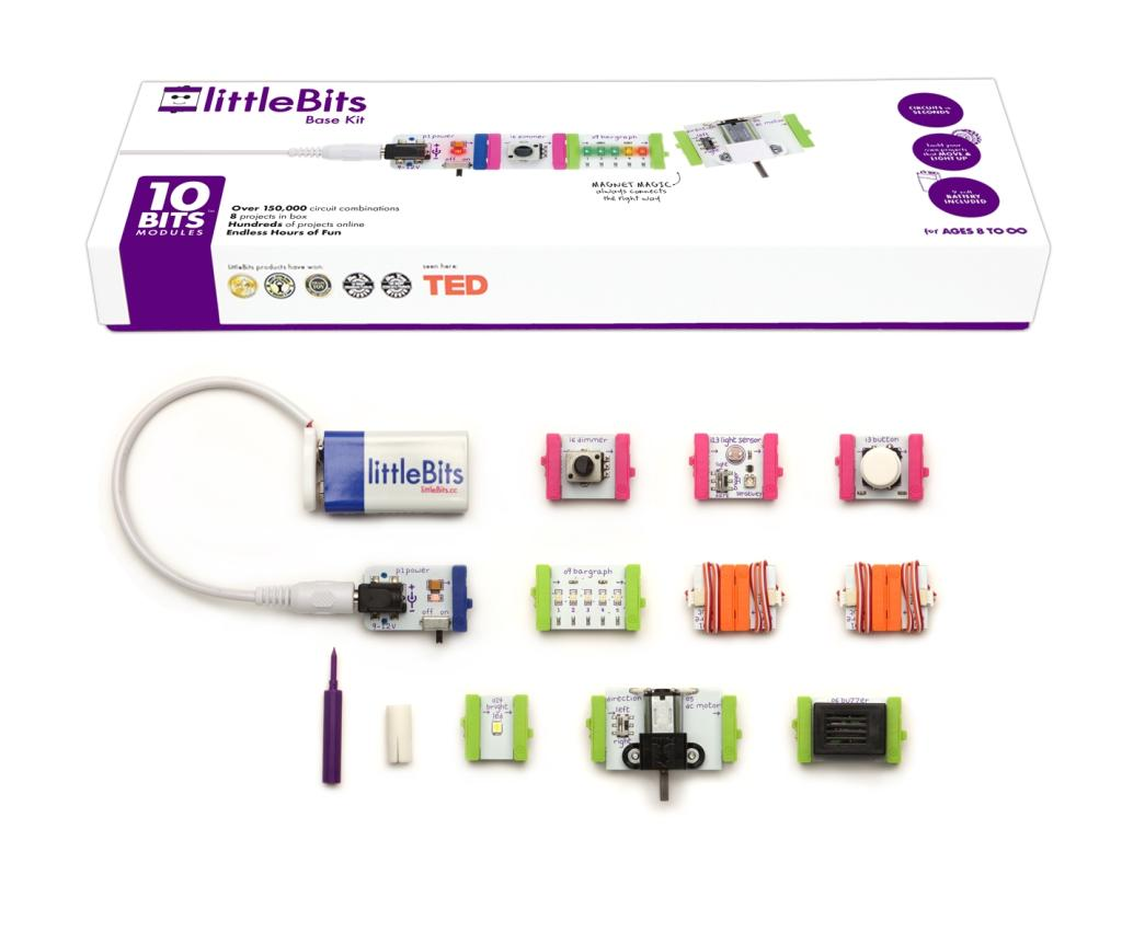 Amazon.com: littleBits Electronics Base Kit: Toys & Games