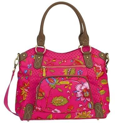 Oilily Colored Dreams M Tote Pink Damen Handtasche Tasche Henkeltasche ...