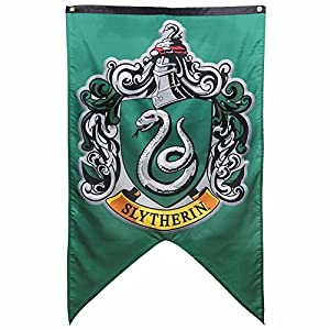 "Harry Potter - Slytherin Wall Banner - 30"" x 50"" by Calhoun Sportswear"
