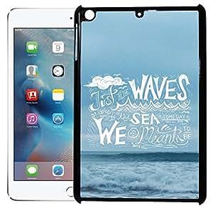 Toppings 2D Printed Designer Hard Back Cover For Apple iPad Mini Design-50018