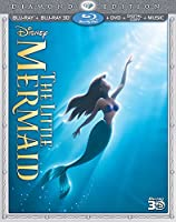 The Little Mermaid (Three-Disc Diamond Edition) (Blu-ray 3D / Blu-ray / DVD + Digital Copy + Music) from Walt Disney Studios Home Entertainment