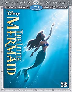 The Little Mermaid (Three-Disc Diamond Edition) (Blu-ray 3D / Blu-ray / DVD + Digital Copy + Music) from Walt Disney Studios Home Entertainment