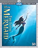 DVD - The Little Mermaid (Three-Disc Diamond Edition) (Blu-ray 3D / Blu-ray / DVD + Digital Copy + Music)