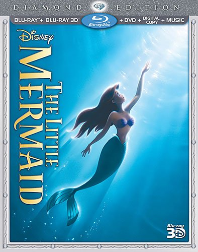 The Little Mermaid (Three-Disc Diamond Edition) (Blu-ray 3D / Blu-ray / DVD + Digital Copy + Music)