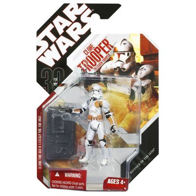 Star Wars Saga 2008 30th Anniversary Wave 2 Action Figure 7th Legion Clone Trooper