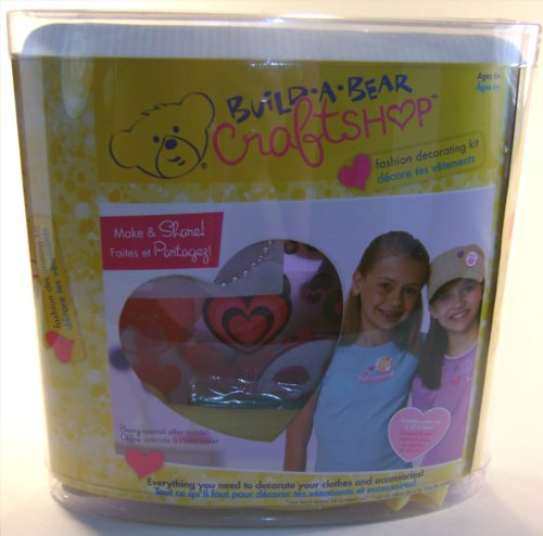 Build-A-Bear Craftshop Fashion Decorating Kit