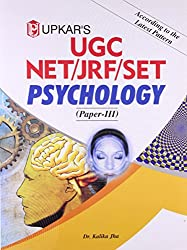 UGC NET/JRF/SET Psychology - Paper III