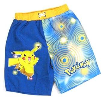 Amazon.com: Pokemon Boys Swim Trunks with Pikachu Size 5: Clothing