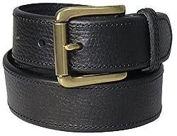 Polo Ralph Lauren Men's casual Black Leather Belt Sz 34
