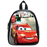 Generic Disney Cars Pull Printed School Bag Backpack PU Leather Small