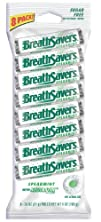 Breath Savers Mints, Spearmint, 8-Cou…