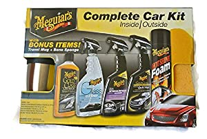 Meguiars Complete Car Kit Inside Outside by Meguiars