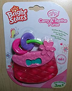 Bright Starts Carry & Teethe Purse