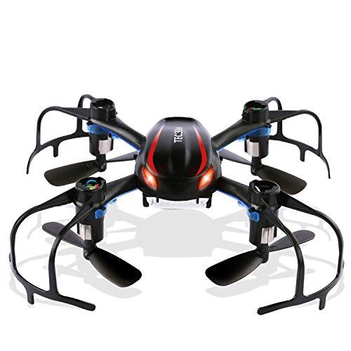 TEC.BEAN Mini RC Quadcopter X902 BlackWidow Dron con giro 3D 2.4Ghz 6 ejes del giroscopio ideal para principiantes