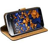 mumbi Ledertasche im Bookstyle für Samsung Galaxy S5 Tasche