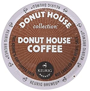 Donut House Light Roast K Cup Coffee 96 Count by DONUT HOUSE