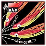 DAM OCTOPUS-VORFACH GELBGLITTER 5/0