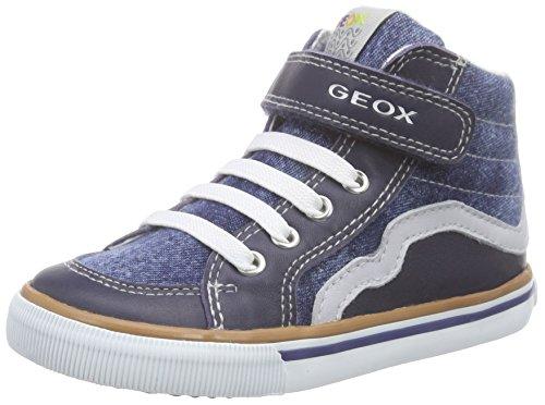 Geox B Kiwi Boy C Scarpe Walking Baby, Bambino, Blu (Jeans/Grey), 22