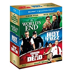 Three Flavours Cornetto Trilogy [Blu-ray]