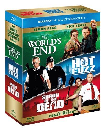 Three Flavours Cornetto Trilogy [Blu-ray] [Import]