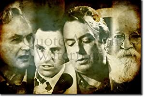 The Atheists Art Print The Four Horsemen Glossy Photo Poster Gift 30x20cm Richard Dawkins