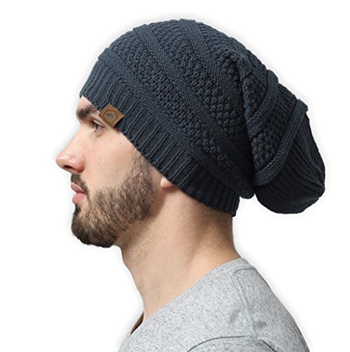 tough-headwear-slouchy-cable-knit-beanie-serious-beanie-hats-for-serious-style-stretchy-soft-acrylic