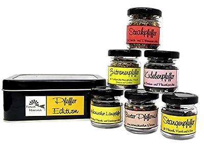 Pfeffer Edition in der Geschenkdose von Finca Marina auf Gewürze Shop