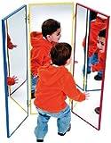 Triptyque Miroir Cadre En Aluminium Aux Couleurs Vives Fournitures de bureau