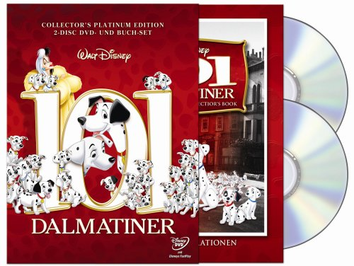 101 Dalmatiner (Collector's Edition mit Buch, 2 DVDs) [Special Edition]