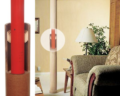 basement poles how to cover a pole picture pictures to pin on